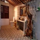 1 Bedroom Villa Glass Wooden House - Bathroom