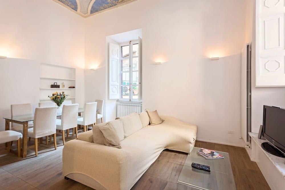 Appartement Luxe, 1 chambre - Coin séjour