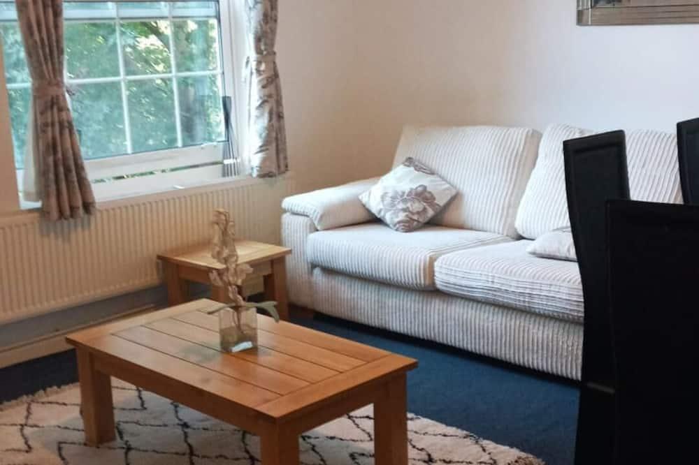 Apartment, 2Queen-Betten - Wohnzimmer
