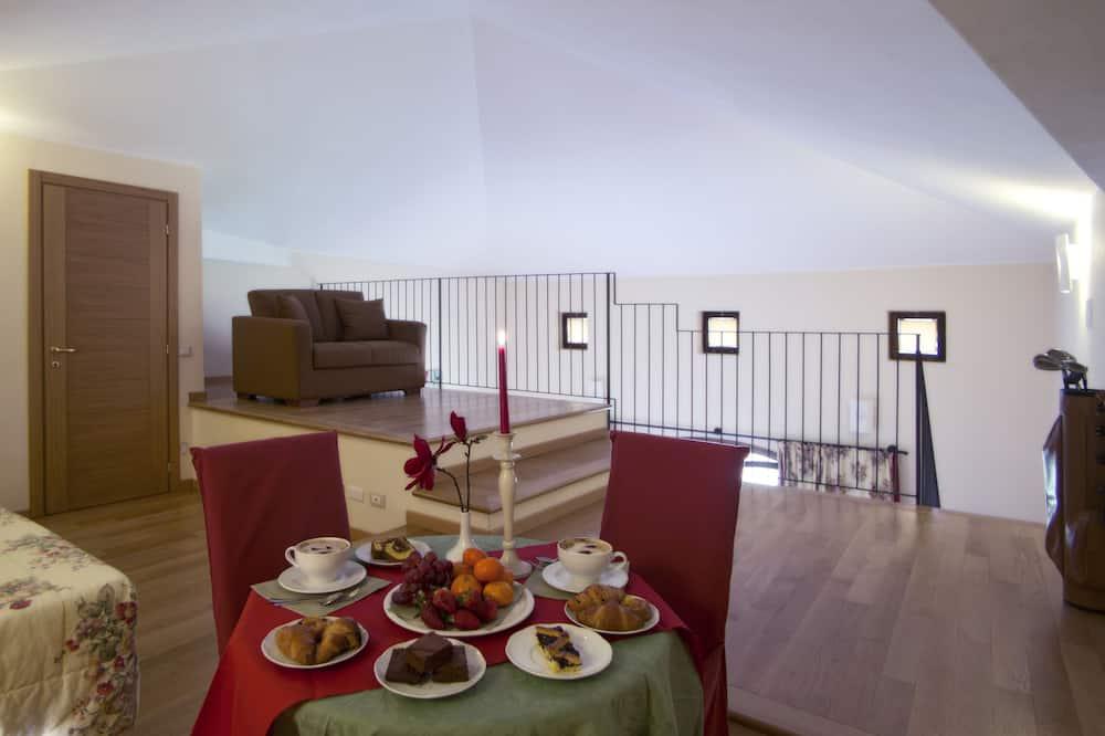 Family Σουίτα - Γεύματα στο δωμάτιο