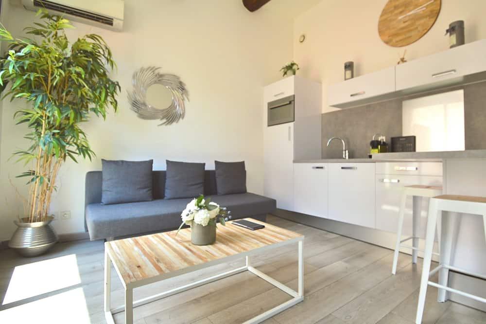 Exclusief appartement, 2 slaapkamers - Woonkamer