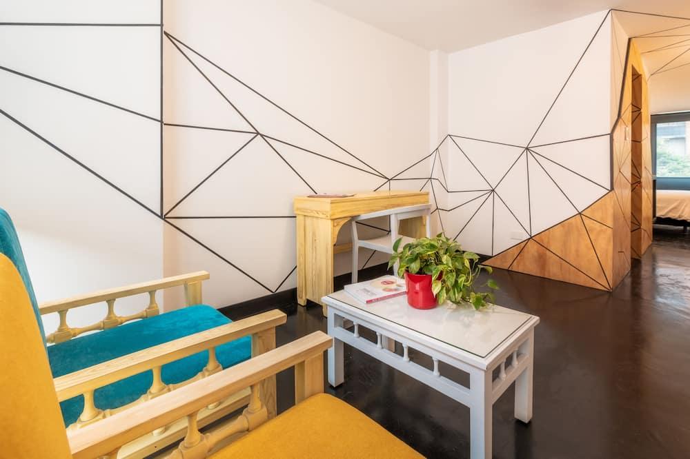 Apartmán typu Deluxe, výhľad na mesto - Obývacie priestory