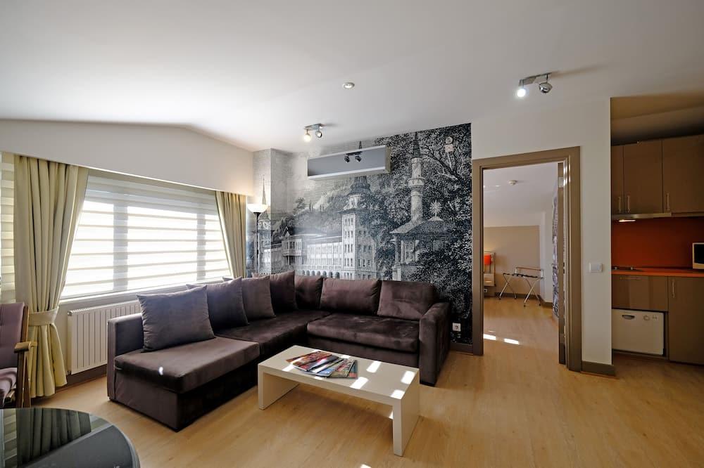 غرفة تنفيذية - غرفة معيشة