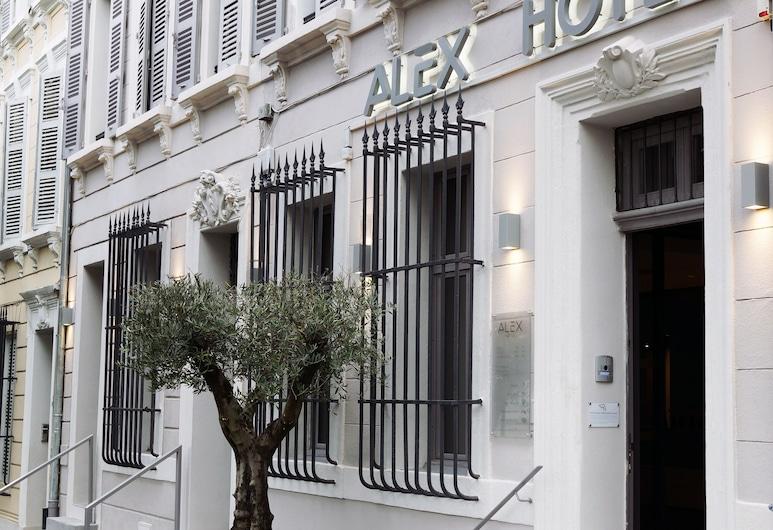Alex Hotel, Marseille, Hotel Entrance