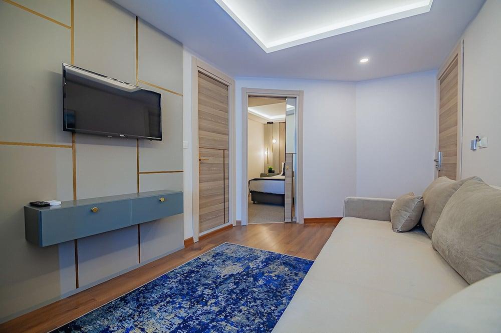 Traditionell lägenhet - Vardagsrum