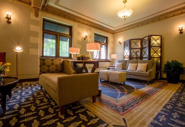The Plaza Hotel, Milwaukee, Salon de la réception