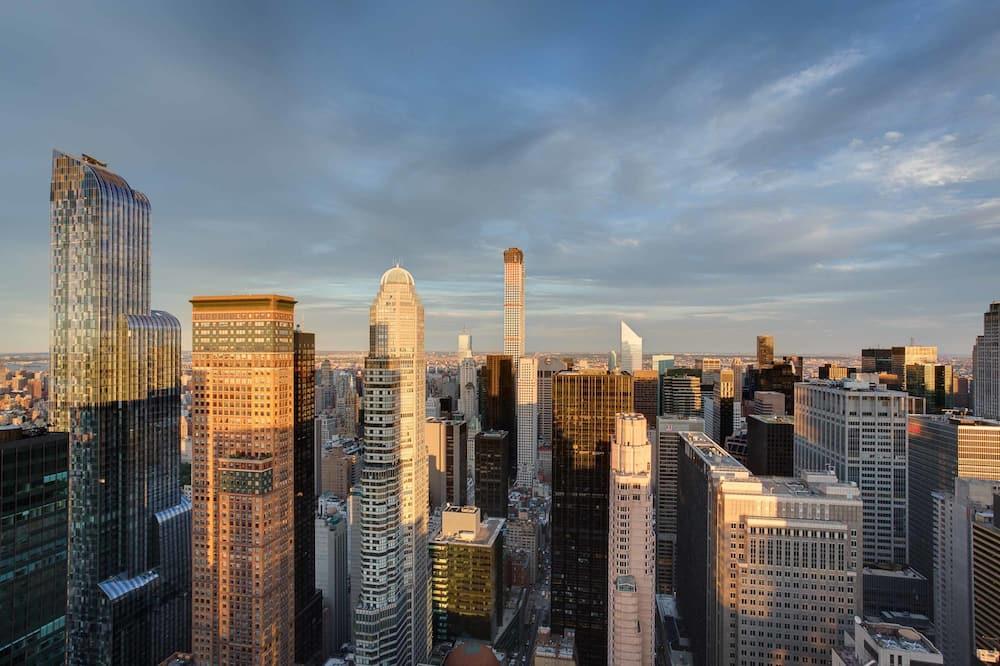 City-Zimmer, 2Doppelbetten, Nichtraucher, Stadtblick - Blick auf die Stadt