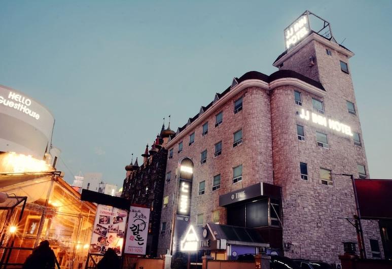 JJ INN, Busan, Pohľad na hotel – večer/v noci