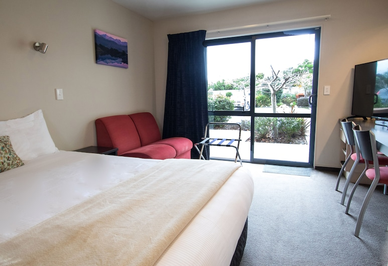 Bella Vista Motel Kaikoura, Kaikoura, Estúdio Superior, Quarto
