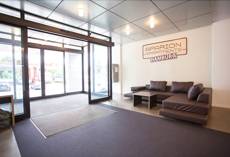 Aparion Apartments Hamburg, Hamburg, Lobby