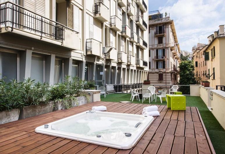納羅格酒店, 吉那歐, 室外 SPA 浴池