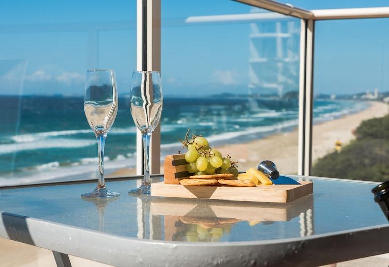 Viscount on the Beach, Surfers Paradise, Apartamento estándar, 3 habitaciones, vistas a la playa, Balcón
