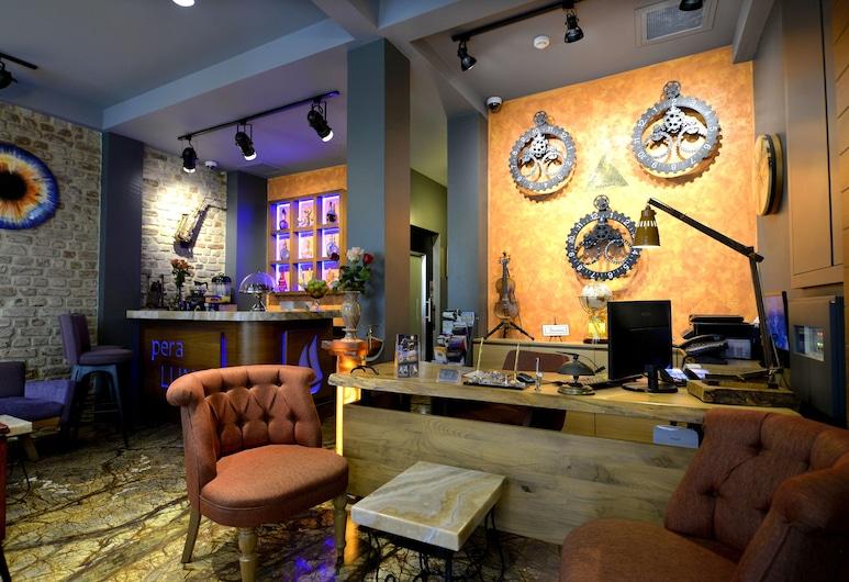 Pera Luna Residence, Κωνσταντινούπολη, Λόμπι