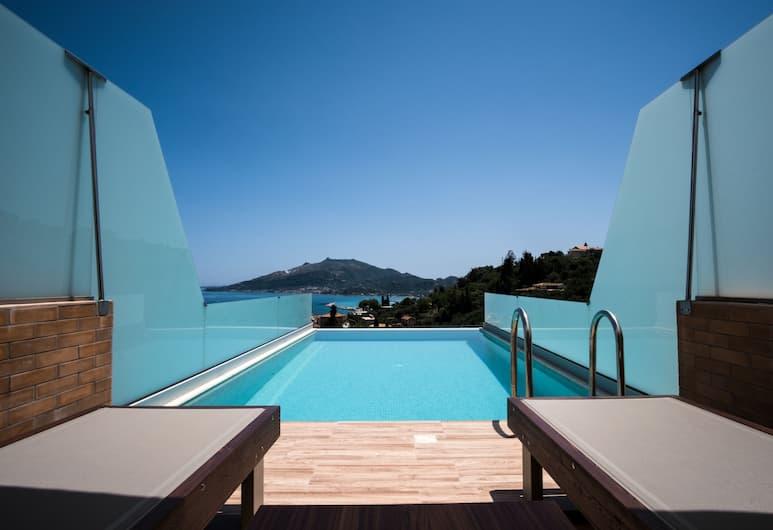 Avalon Hotel - Adults Only, Zakynthos, Suite, eigener Pool, Balkon