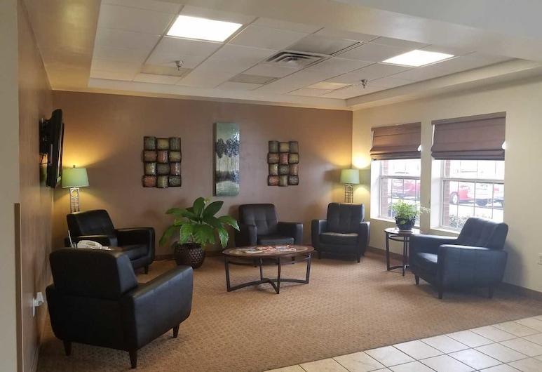 Landmark Inn Fort Bragg, Fayetteville, Zona con asientos del vestíbulo