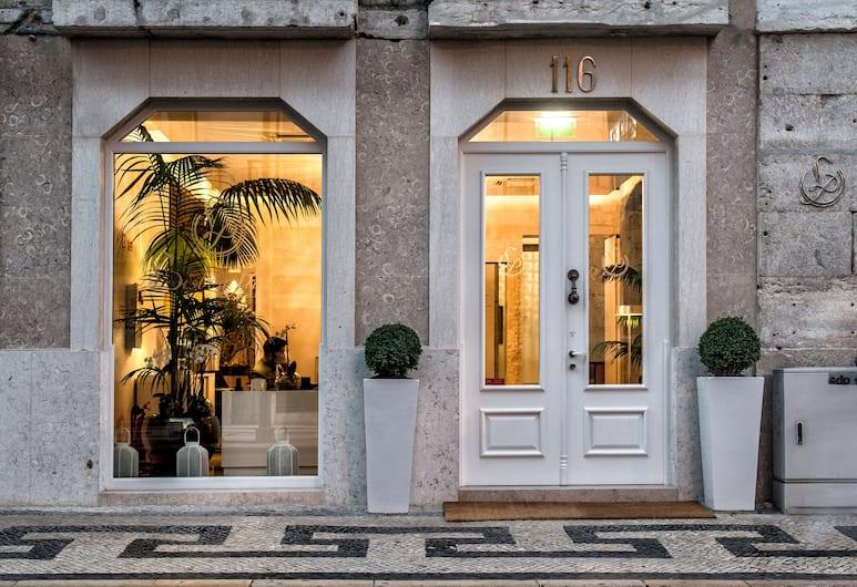 Lisboa Prata Boutique Hotel, Lisabon, Vchod do hotela