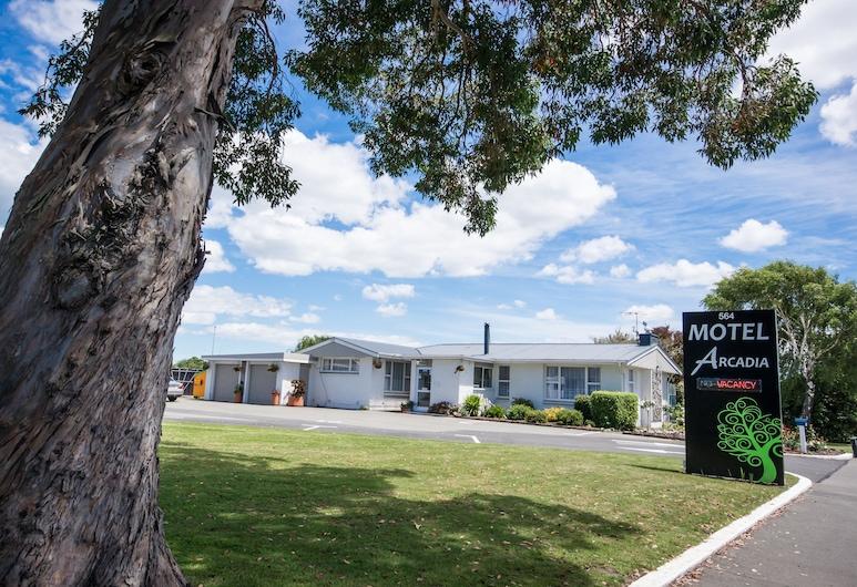 Arcadia Motel, Christchurch, Ulkoalueet