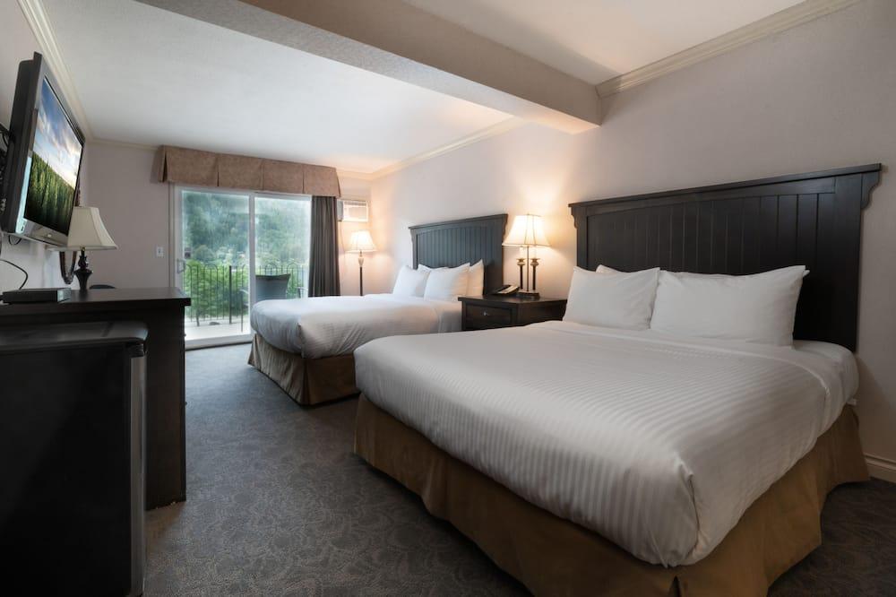 客房, 2 張加大雙人床, 庭院 - 客房