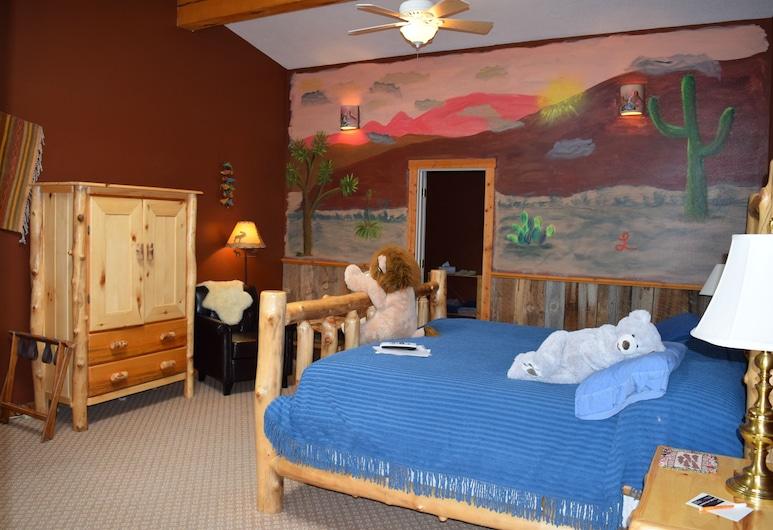 The Inn of Escalante, Eskalante, Standarta numurs, 1 divguļamā karaļa gulta, Dzīvojamā zona