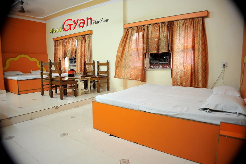 Ganga facing deluxe A/C four bed Room - Living Area