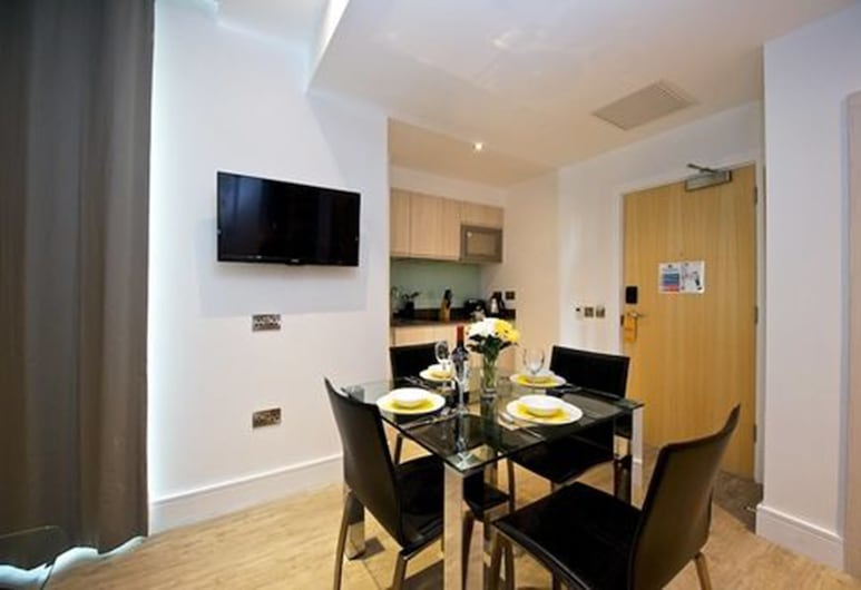 Staycity Aparthotels Greenwich High Road, Londres, Appartement de 1 chambre, Chambre