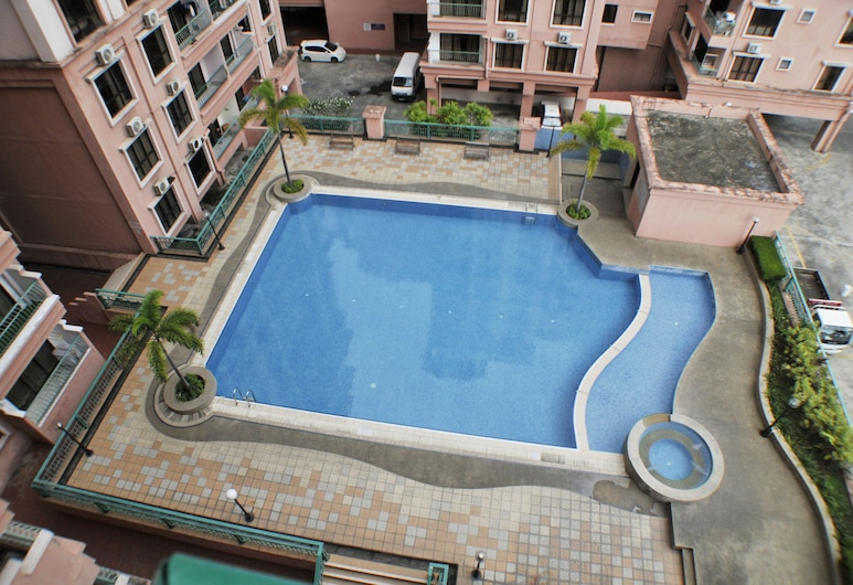 Promenade Service Apartments, Kota Kinabalu, Apartament typu City (at Marina Court Resort), Widok z pokoju