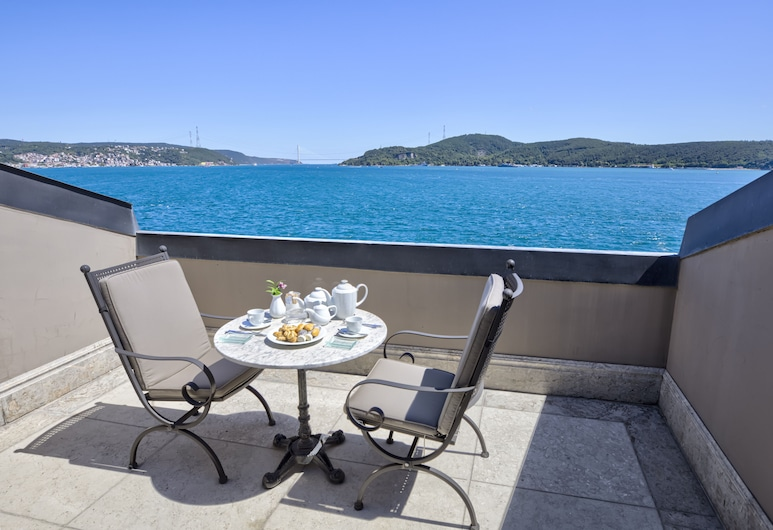 The Central Palace Bosphorus, Sariyer, Honeymoon Suite, Terrace/Patio