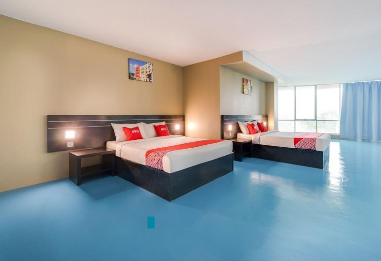 OYO 44082 Kuala Melaka Inn, Langkawi, סוויטה משפחתית, חדר אורחים
