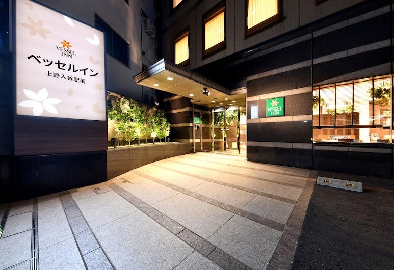 Vessel Inn Ueno Iriya Ekimae, Tokyo, Exterior