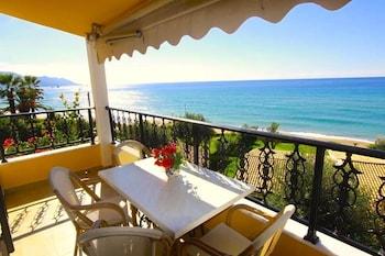 ภาพ Glyfada Beach - Menigos Resort ใน คอร์ฟู