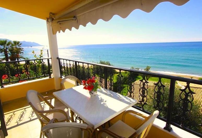 Glyfada Beach - Menigos Resort, Korfu, Comfort-Apartment, 2Schlafzimmer, Meerblick, Balkon