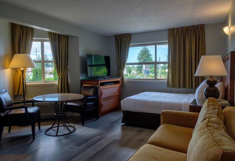 帕克斯維爾海岸飯店, 帕克斯維爾, 高級客房, 1 張加大雙人床, 客廳