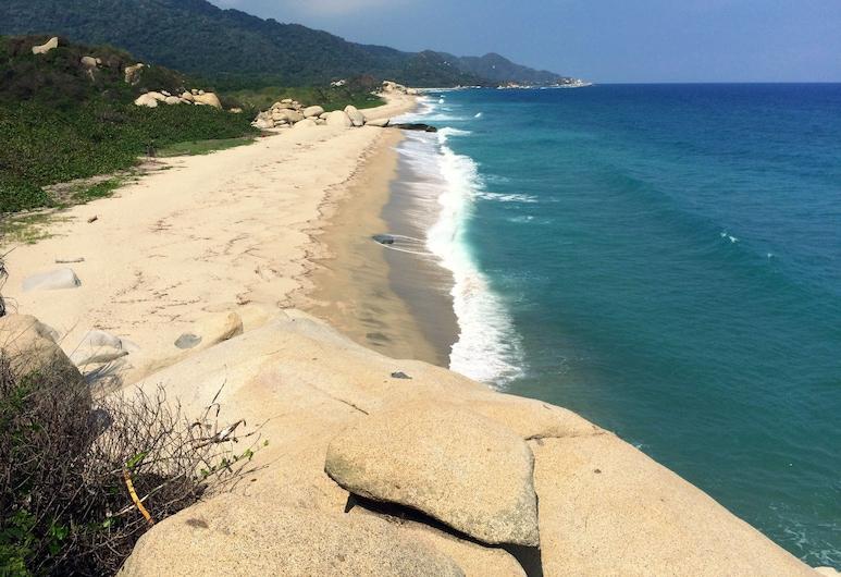 Tayrona Tented Lodge, Santa Marta, Pláž