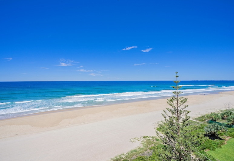 Dorchester on the Beach, Surfers Paradise, Apartamento superior, 3 habitaciones, vistas al mar, Playa
