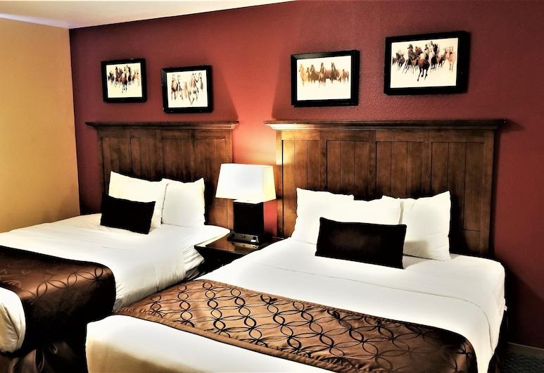 Royal Victorian, Порт-Анджелес, Premium Deluxe Room, 2 Queen Beds (with AC), Номер