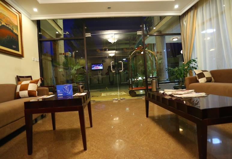 Caravan Hotel, Addis Ababa, Lobby Sitting Area