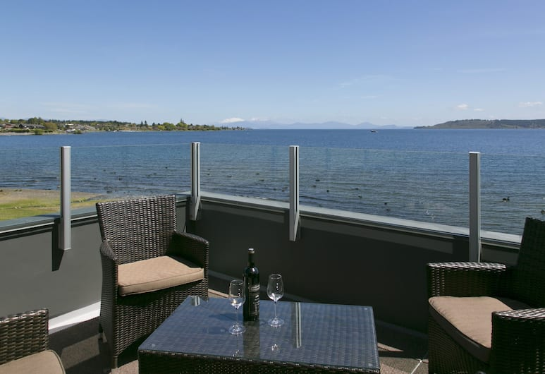 The Cove Taupo, Taupo, Presidential Penthouse, Balcony