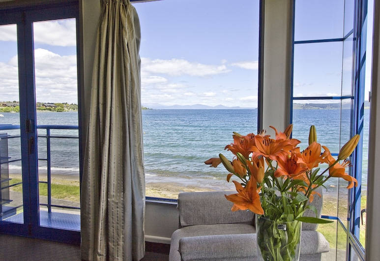Clearwater Motor Lodge, Taupo, Studio (First Floor), Lake View