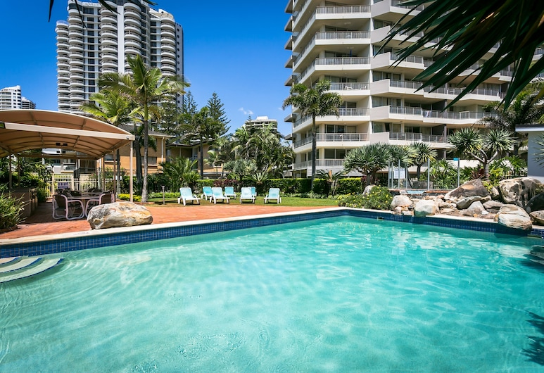 Surfers Beachside Holiday Apartments, Surfers Paradise, Outdoor Pool