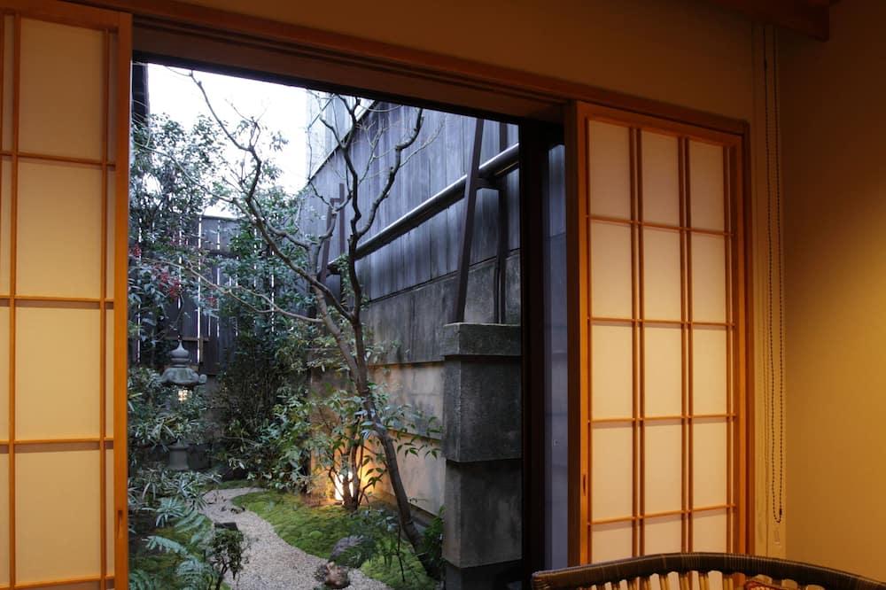 胡桃 ツインルーム 料理長特選会席プラン - リビング エリア