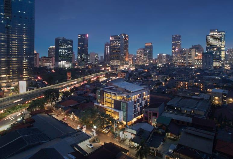 Avissa Suites, Jakarta, Hotel Front – Evening/Night