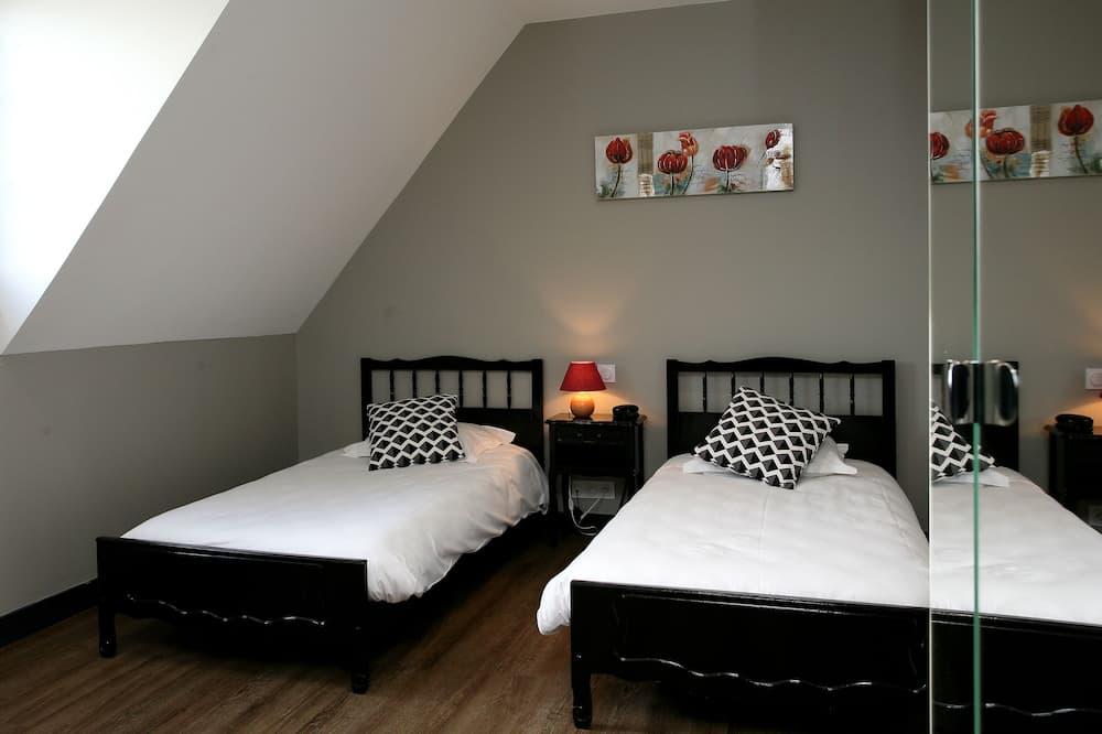 Dvojlôžková izba typu Comfort, 2 jednolôžka, vlastná kúpeľňa - Kúpeľňa