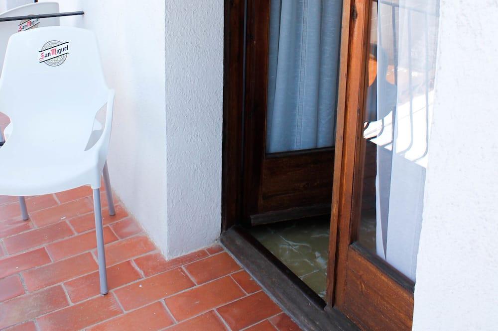 Camera doppia, 2 letti singoli, balcone - Balcone