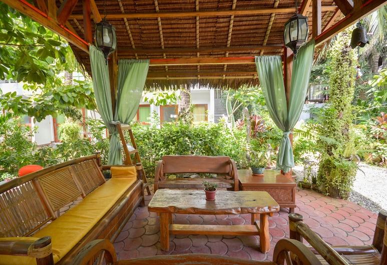 Secret Garden Resort, Boracay Island, Terasa / vidinis kiemas