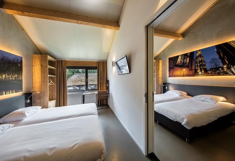 Star Lodge Hotels Utrecht, Utrecht, Fjölskylduherbergi, Herbergi