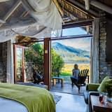 Chalet Romantis, 1 Tempat Tidur King, balkon, pemandangan gunung - Balkon