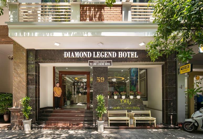 Diamond Legend Hotel, Hanoi, Hotellinngang