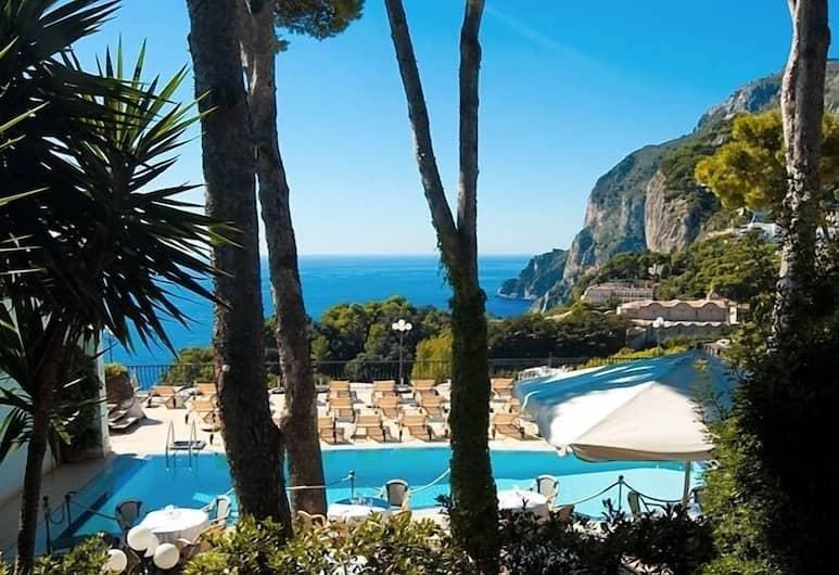 Hotel La Scalinatella, Capri, Kültéri medence