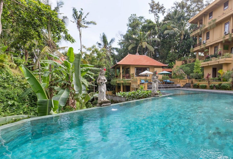 Sri Aksata Ubud Resort, Ubud, Basen