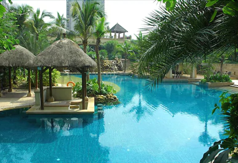 Richwood Garden Hotel, Dongguan, Piscine en plein air